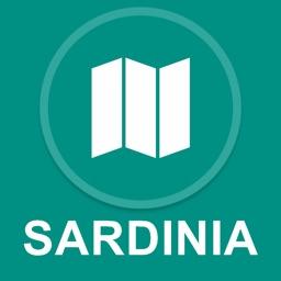 Sardinia, Italy : Offline GPS Navigation