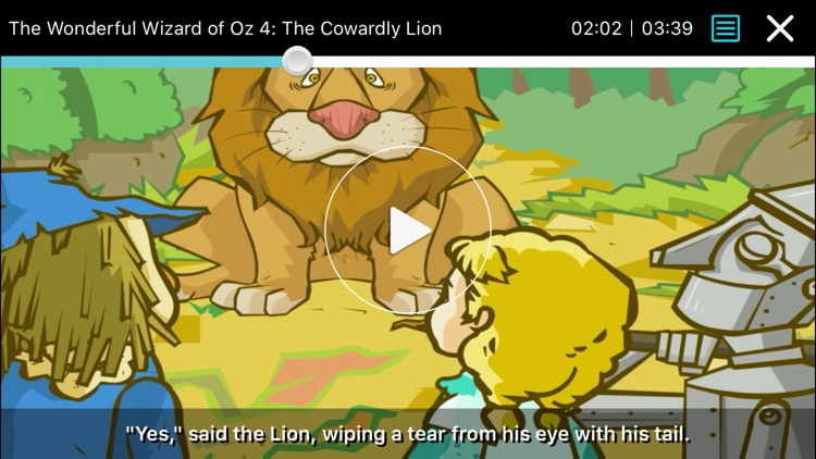 The Wizard of Oz - Little Fox Storybook screenshot-1