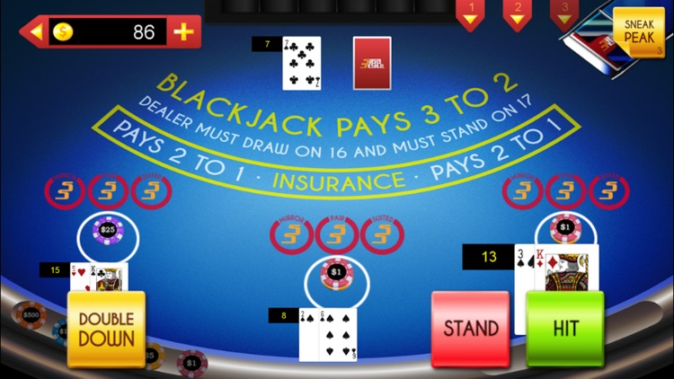 Casino Games: Let It Ride On, 3 Card Poker & More screenshot-1