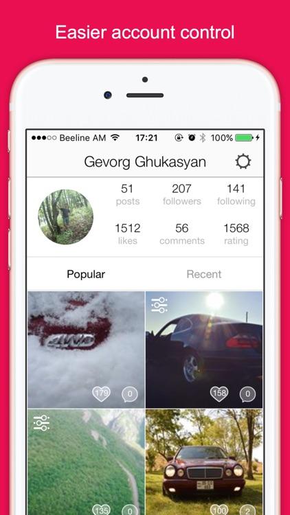 Instakiller - Analytics for Instagram