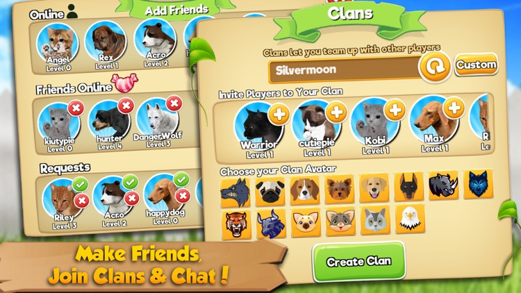 Cat & Dog Online: Multiplayer Kitten & Puppy Sim screenshot-2