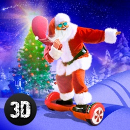 Christmas Santa Run: Hoverboard Simulator 3D Full