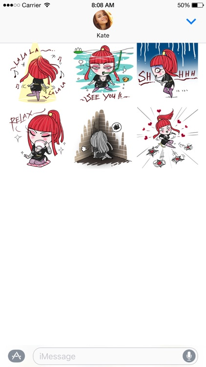 Aiko the Love Ninja stickers screenshot-4