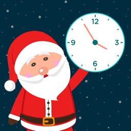 Countdown + Christmas to Count down Santa Tracker