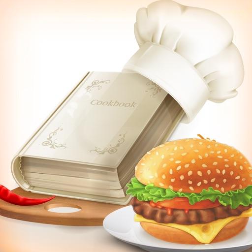 Kids Burger & Cupcake Mania application logo