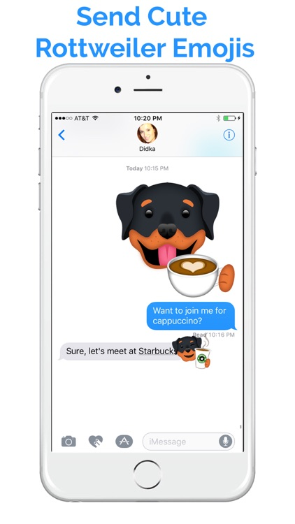 RottieMoji - Rottweiler Emojis and Stickers