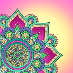 Mandalas Coloring Book Calm Adults Color Therapy