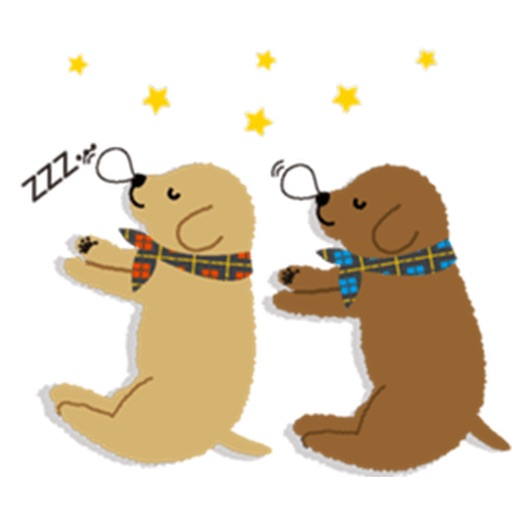 Two Adorable Puppies Sticker Packs icon