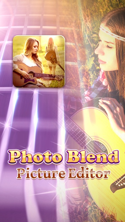 Photo Blend Picture Editor: Amazing Image Blender