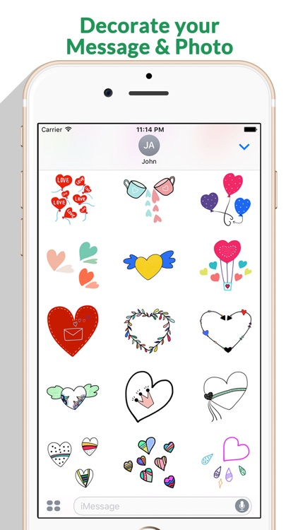 Love - Lovely Doodle Stickers by StiPia screenshot-4