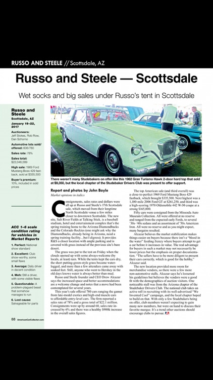 American Car Collector Magazine screenshot-4