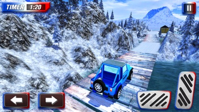 Offroad Police Jeep Simulator & Cop Driving Game