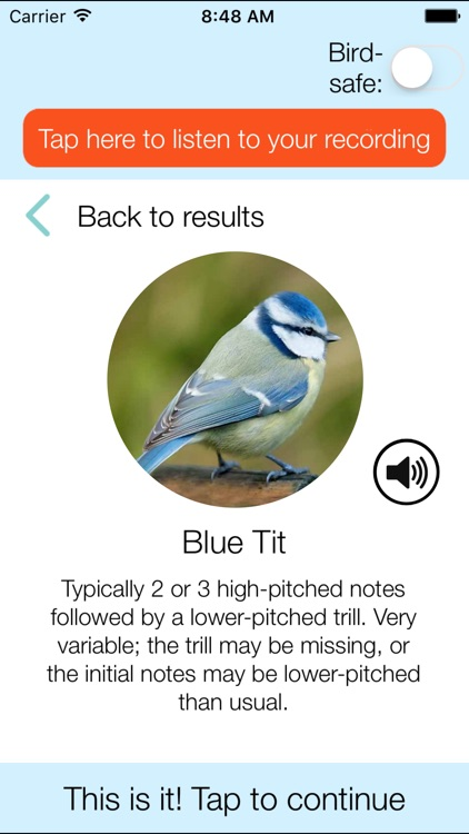 ChirpOMatic UK, Automatic Bird Song Recognition v2