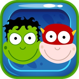Superhero & Friends Puzzle - Match 3 Game