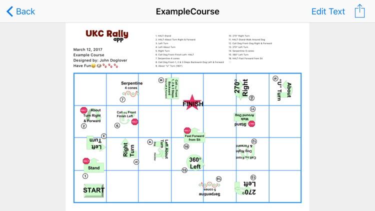 UKC Rally App