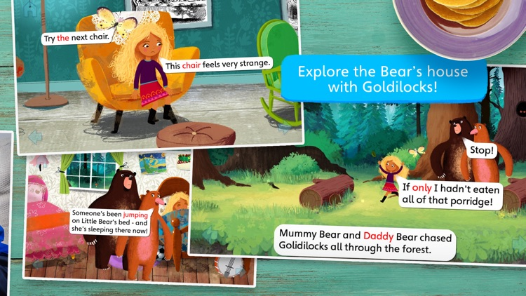 Goldilocks and Little Bear by Nosy Crow screenshot-3