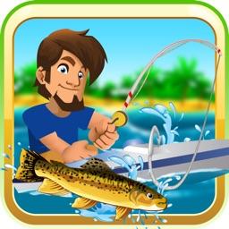 Deep Lake Reel Fishing