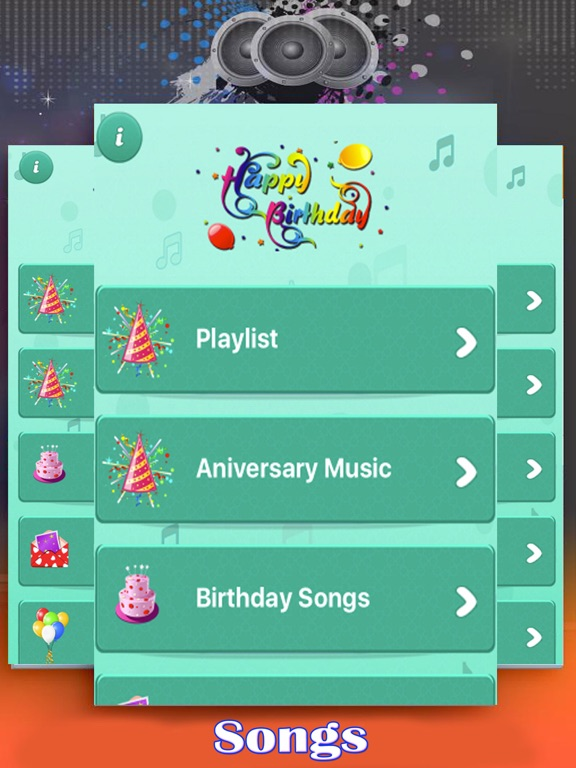 Screenshot 1 For Happy Birthday Wishes Songs