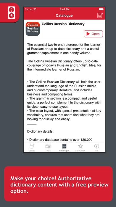 Collins Russian Dictionaryのおすすめ画像1