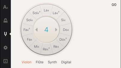 Screenshot #3 pour Cadenza: Accordeur + Métronome