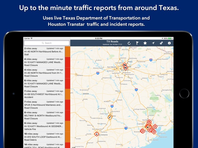 Texas State Roads On The App Store