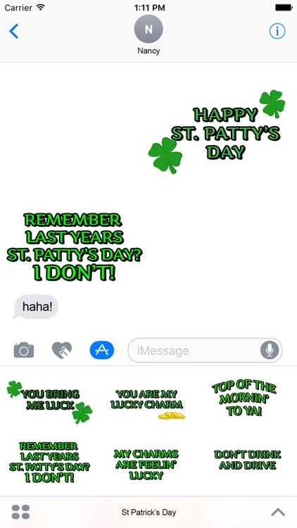 St. Patrick's Day Celebration Stickers