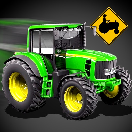 A Farm Tractor 3D Parking Simulator Racing Game iOS App