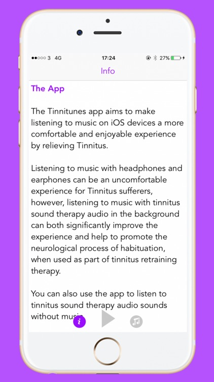 Tinnitunes - Tinnitus Relief Music App