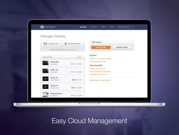 EventBoard - Book, Meet, Work screenshot-3