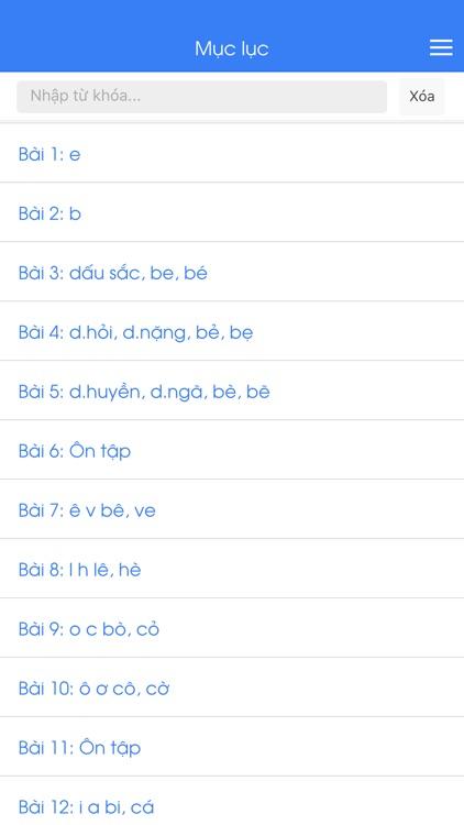 Học Tiếng Việt Lớp 1