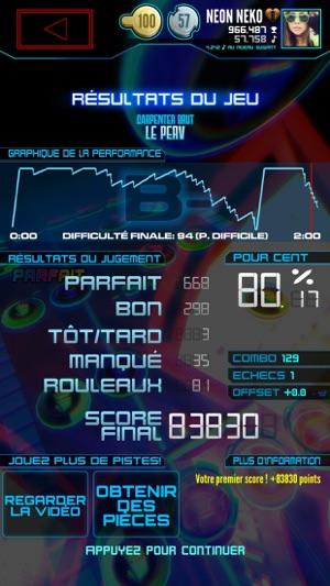 Neon Fm Jeu Musicale Jeu Arcade De Rhythme Dans Lapp Store