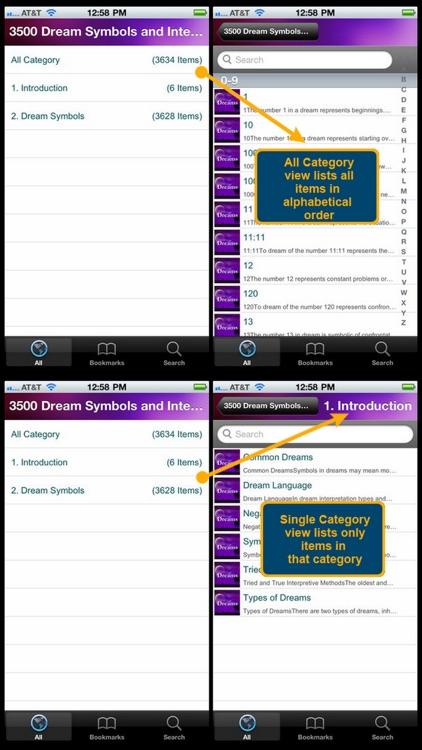 3500 Dream Symbols and Interpretation Tips screenshot-4