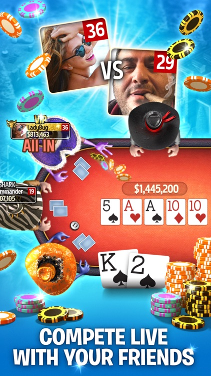 Governor of Poker 3 - Live Texas Holdem Poker Game screenshot-3