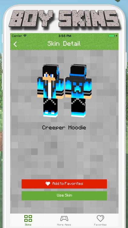 Boy Skins for Minecraft PE - MCPE Skins Free screenshot-3