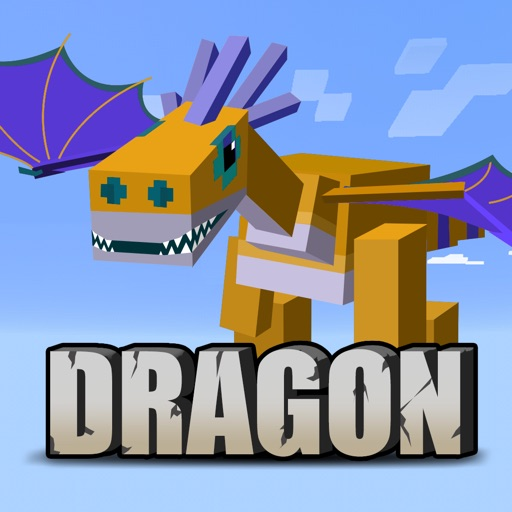Dragon & Dinosaur Addons Free for Minecraft PE by xiaofei hu