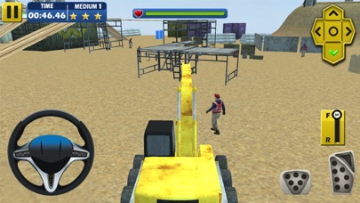 Real off road driving at under construction site App 截图