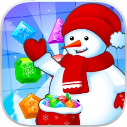 Frozen Diamond Mash: Winter Edition - Puzzle Game