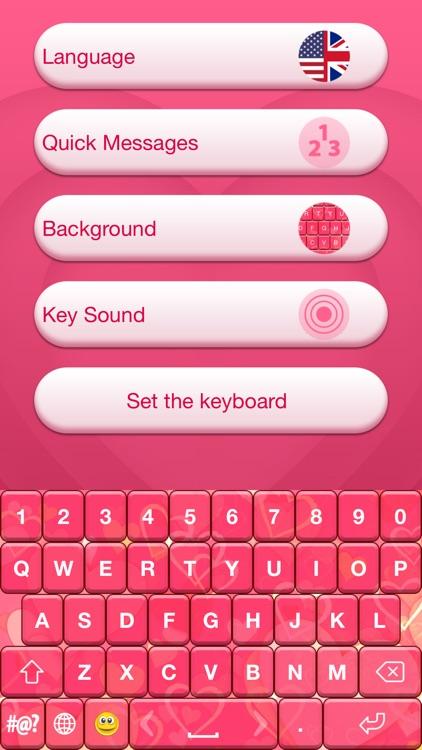 Valentine's Day Keyboard Theme screenshot-4
