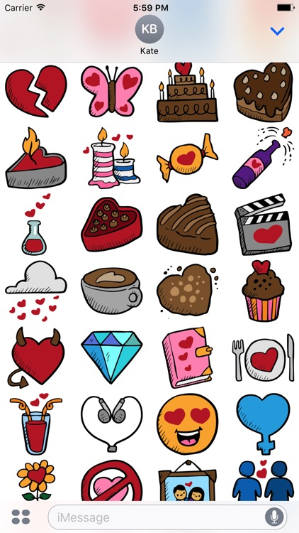 Dating Stickers -Valentine's Day 2017 For Messages