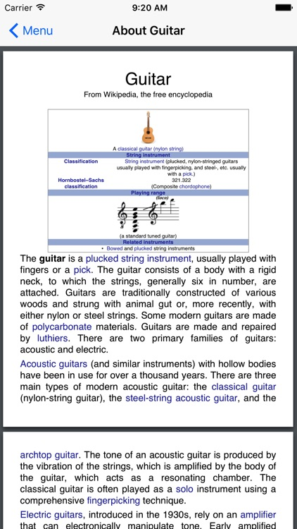 The Great Guitarists screenshot-4