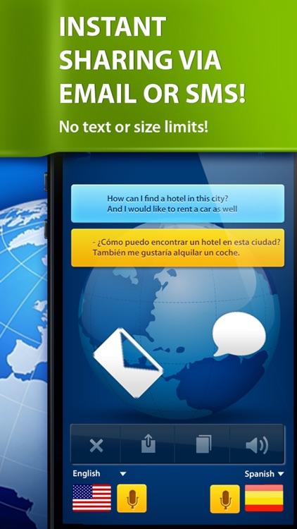 Speech Translator - Translate voice & text screenshot-4