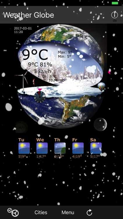 Weather Globe screenshot-2