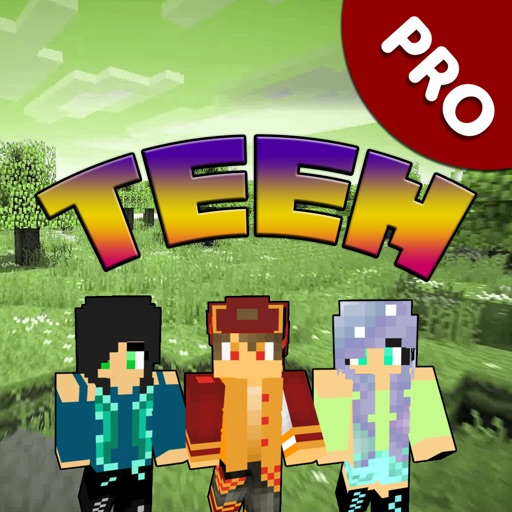 Teen Skins Pro - Best Skins for Minecraft Edition by Alpaben Vachhani