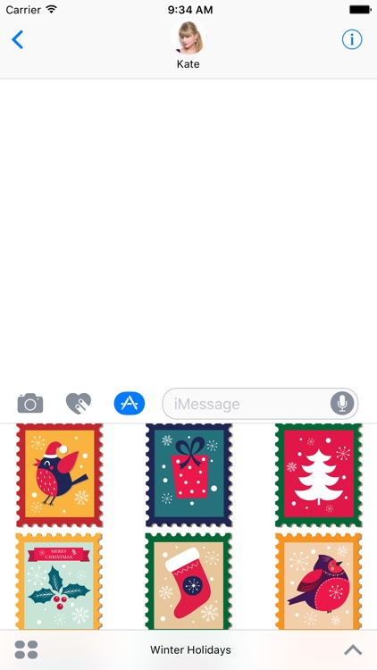 Winter Holidays Stickers screenshot-4
