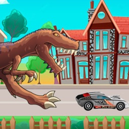 T-Rex Attack Racing