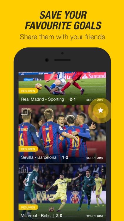 La Liga TV – The official football TV in full HD screenshot-3