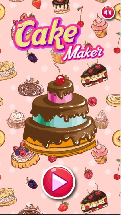 Cake Maker ~ Cake Bake Shop & Sweet Cooking Game