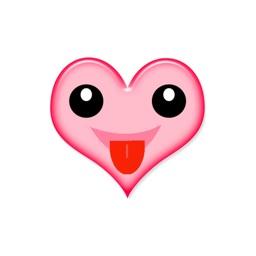 Heart Moods stickers by Sonam