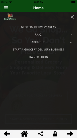 WeGoShop Grocery Delivery on the App Store
