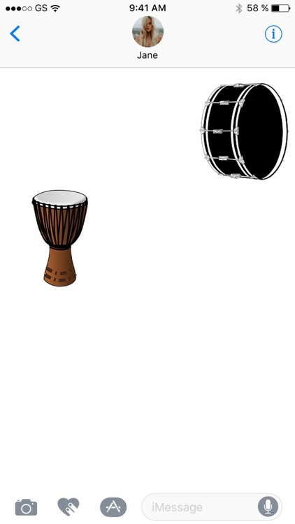 Drum Stickers